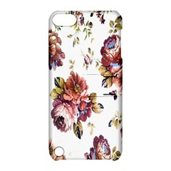 Texture Pattern Fabric Design Apple Ipod Touch 5 Hardshell Case With Stand
