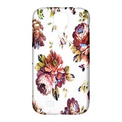 Texture Pattern Fabric Design Samsung Galaxy S4 Classic Hardshell Case (pc+silicone)