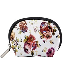 Texture Pattern Fabric Design Accessory Pouches (small)