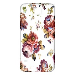 Texture Pattern Fabric Design Samsung Galaxy S5 Back Case (white)
