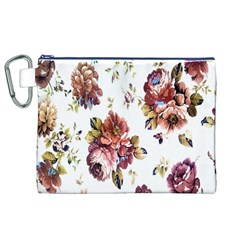 Texture Pattern Fabric Design Canvas Cosmetic Bag (xl)
