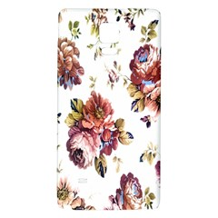 Texture Pattern Fabric Design Galaxy Note 4 Back Case