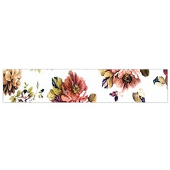 Texture Pattern Fabric Design Flano Scarf (Small)