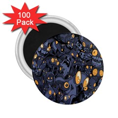 Monster Cover Pattern 2.25  Magnets (100 pack)