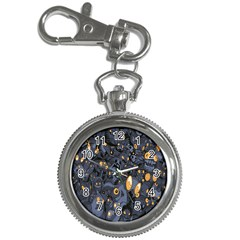 Monster Cover Pattern Key Chain Watches