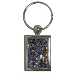 Monster Cover Pattern Key Chains (rectangle)
