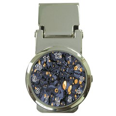 Monster Cover Pattern Money Clip Watches