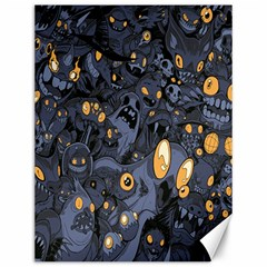 Monster Cover Pattern Canvas 12  X 16