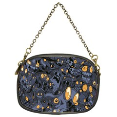 Monster Cover Pattern Chain Purses (One Side)