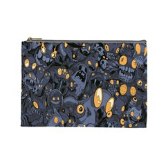 Monster Cover Pattern Cosmetic Bag (Large)