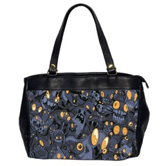 Monster Cover Pattern Office Handbags (2 Sides)