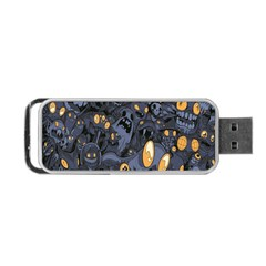 Monster Cover Pattern Portable Usb Flash (two Sides)