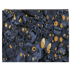 Monster Cover Pattern Cosmetic Bag (xxxl)