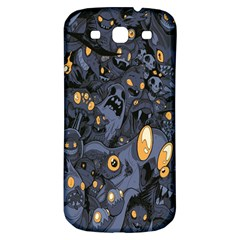 Monster Cover Pattern Samsung Galaxy S3 S III Classic Hardshell Back Case
