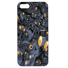 Monster Cover Pattern Apple iPhone 5 Hardshell Case with Stand