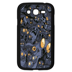 Monster Cover Pattern Samsung Galaxy Grand Duos I9082 Case (black)