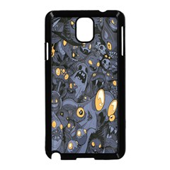 Monster Cover Pattern Samsung Galaxy Note 3 Neo Hardshell Case (Black)