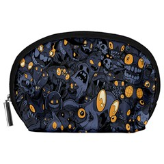 Monster Cover Pattern Accessory Pouches (large)
