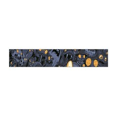 Monster Cover Pattern Flano Scarf (Mini)