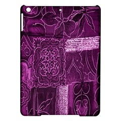 Purple Background Patchwork Flowers Ipad Air Hardshell Cases