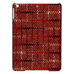 Rust Red Zig Zag Pattern Ipad Air Hardshell Cases