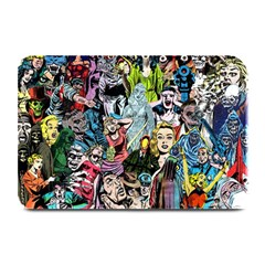 Vintage Horror Collage Pattern Plate Mats