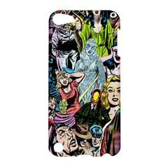 Vintage Horror Collage Pattern Apple Ipod Touch 5 Hardshell Case