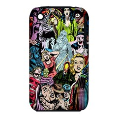 Vintage Horror Collage Pattern iPhone 3S/3GS