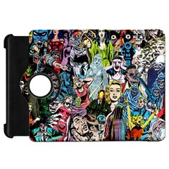 Vintage Horror Collage Pattern Kindle Fire Hd 7