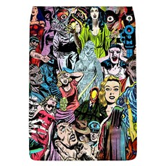 Vintage Horror Collage Pattern Flap Covers (l)
