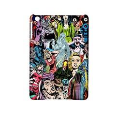 Vintage Horror Collage Pattern iPad Mini 2 Hardshell Cases