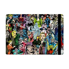 Vintage Horror Collage Pattern iPad Mini 2 Flip Cases