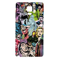 Vintage Horror Collage Pattern Galaxy Note 4 Back Case