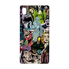 Vintage Horror Collage Pattern Sony Xperia Z3+