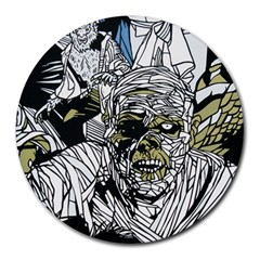 The Monster Squad Round Mousepads