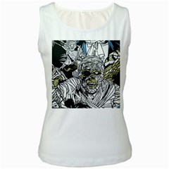 The Monster Squad Women s White Tank Top