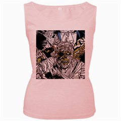 The Monster Squad Women s Pink Tank Top