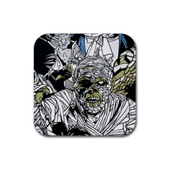 The Monster Squad Rubber Square Coaster (4 Pack)