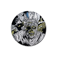 The Monster Squad Rubber Coaster (round)