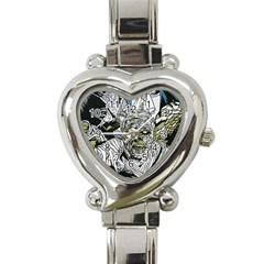 The Monster Squad Heart Italian Charm Watch