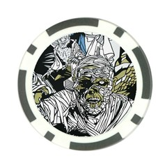 The Monster Squad Poker Chip Card Guard