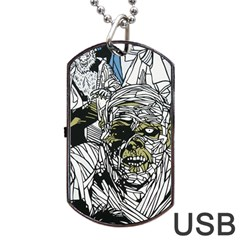 The Monster Squad Dog Tag Usb Flash (one Side)