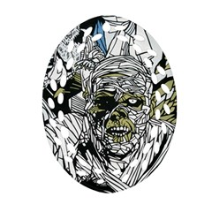 The Monster Squad Oval Filigree Ornament (two Sides)