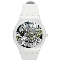 The Monster Squad Round Plastic Sport Watch (m)