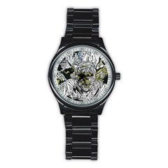 The Monster Squad Stainless Steel Round Watch