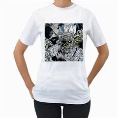 The Monster Squad Women s T-Shirt (White)