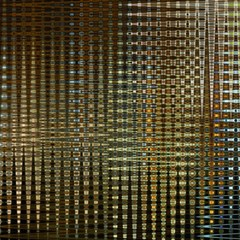 Background Colors Of Green And Gold In A Wave Form Magic Photo Cubes