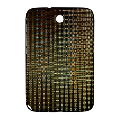 Background Colors Of Green And Gold In A Wave Form Samsung Galaxy Note 8 0 N5100 Hardshell Case