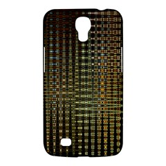 Background Colors Of Green And Gold In A Wave Form Samsung Galaxy Mega 6.3  I9200 Hardshell Case