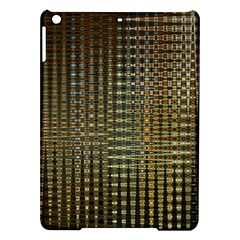 Background Colors Of Green And Gold In A Wave Form Ipad Air Hardshell Cases